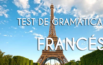 Test de gramática francesa